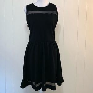 SALE | French Atmosphere Black Sleeveless Dress-L